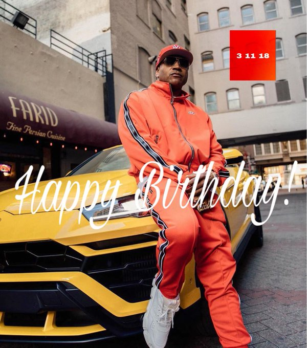 HAPPY BIRTHDAY TO LL COOL J !     ENJOY!