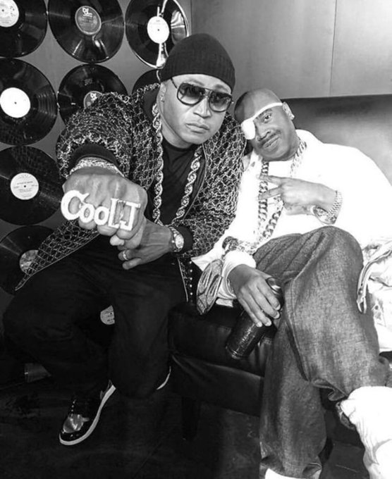 Happy Birthday to two of the best to ever grace a mic- Slick Rick & LL Cool J