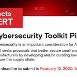 Image for the Tweet beginning: MxD's current RFP seeks #cybersecurity