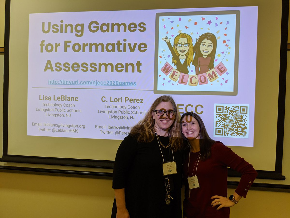 Achievement unlocked: present at a conference! Thanks to my fellow tech coach @PerezEdTech for presenting with me. @LPS_Edtech #livingstonleads #njecc2020 <br>http://pic.twitter.com/h26hYYle56