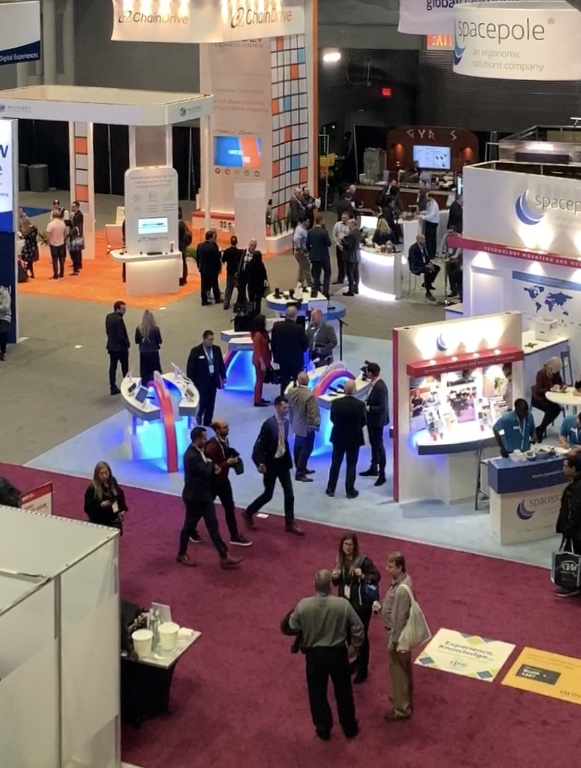 test Twitter Media - A spectacular angle of our booth #3773 at #NRF2020. We'd love to speak with you.  https://t.co/SZui4nGxfh   #POS #MobilePOS #CustomerService #Retail #NRF https://t.co/gtPqQe8zhT
