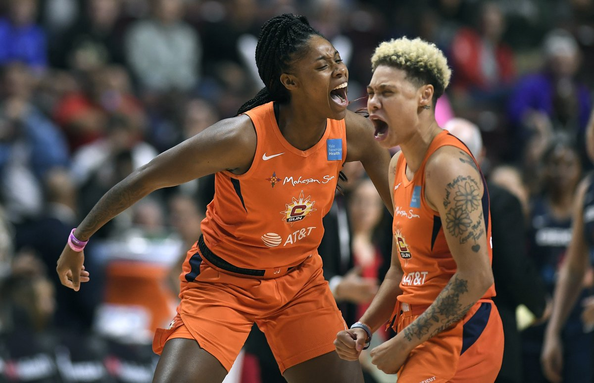 The WNBA will pay players a full salary while on maternity leave (they currently get 50%). New moms will also get nursing areas and child care stipends.  The changes are part of a landmark deal that ups average salaries to 6-figures ($130K) for the 1st time.