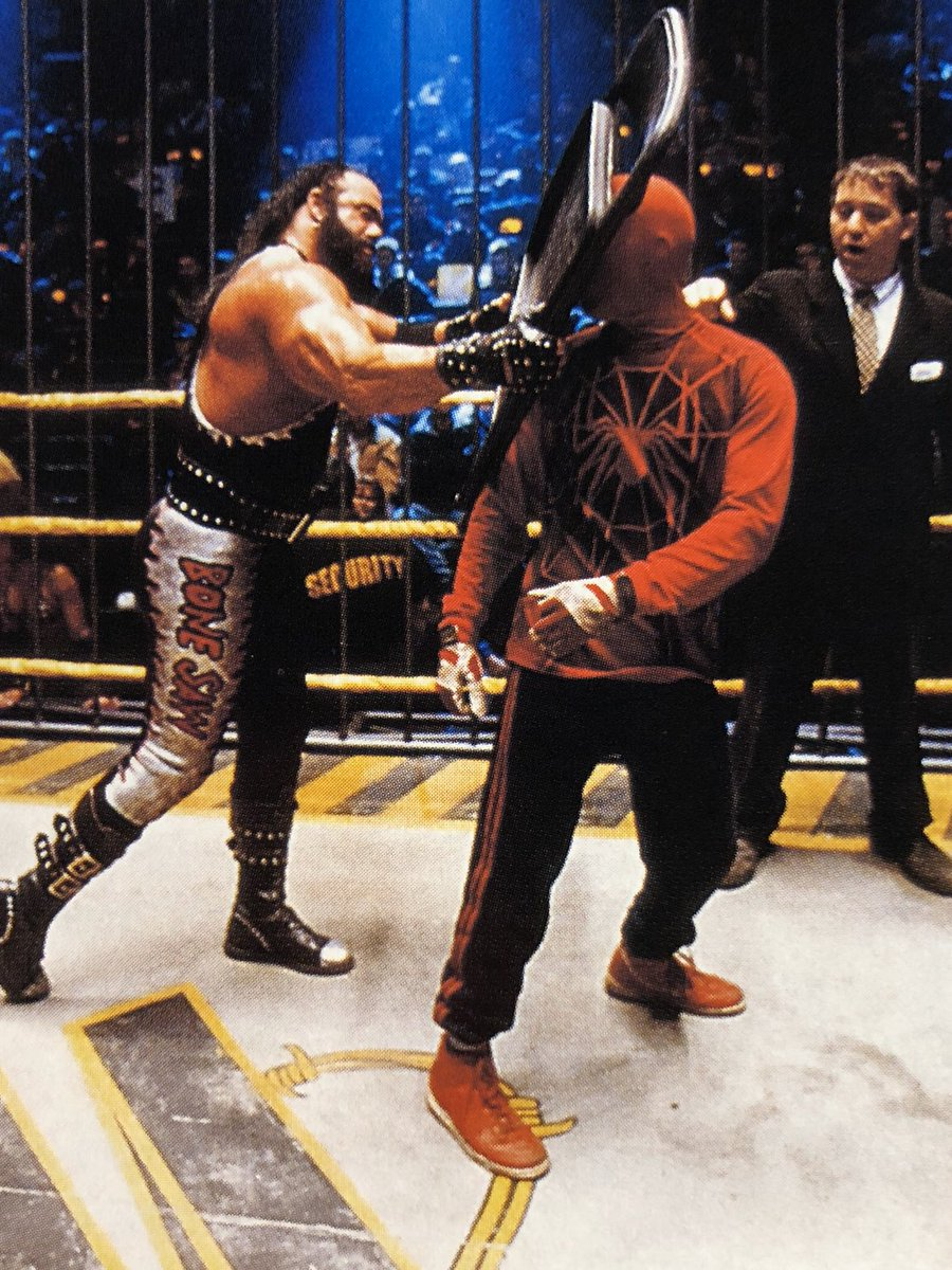 "Daily Raimi Spider-Man! on Twitter: ""Spider-Man (2002) Oooh yeah! The Macho  Man, Randy Savage as 'Bone Saw' on set with Sam Raimi and Tobey Maguire.… """
