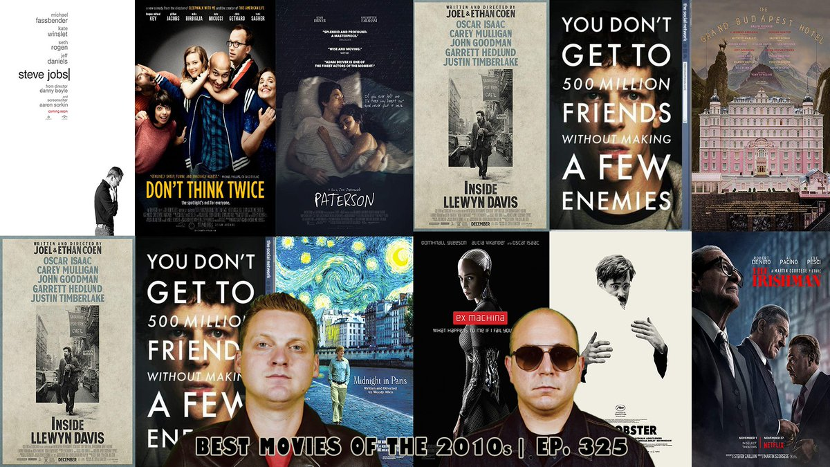 Nathan and Andy discuss their top 5 Movies of the 2010s! http://bit.ly/Bestof2010s   #bestof2010s #bestmovies #bestofthedecade #greatmovies #2010s #podcast #movies #film #comedy #podcast #filmbuff #cinephile #reviews #tcm #theacademy #oscar #bestof #4SOF #keepfilmalive pic.twitter.com/uE4N7lYGpN