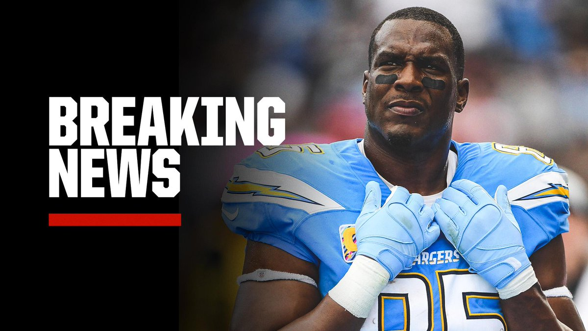 Breaking: After 16 seasons with the Chargers, Antonio Gates announced his retirement from the NFL.