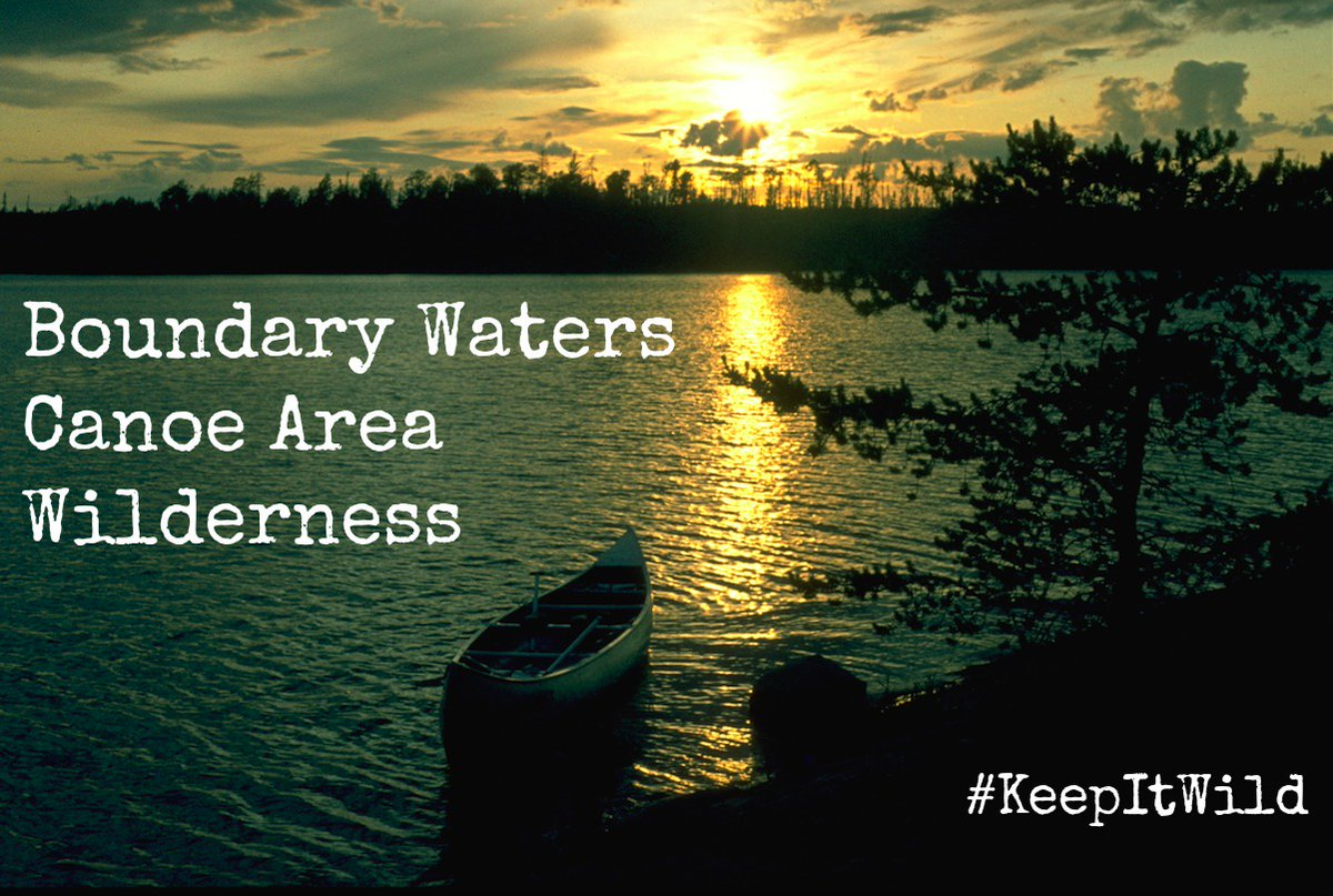 Read more about a major win for #cleanwater and the future of the Boundary Waters Canoe Area Wilderness from our friends at @FriendsBWCAW: https://www.friends-bwca.org/blog/polymet-permits… #KeepItWild pic.twitter.com/XzbXEvWCAL