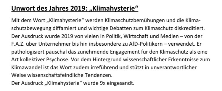#Klimahysterie