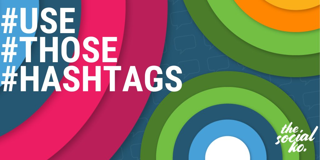 #TipTuesday: Use those hashtags!  We've been using hashtags since '07! Hashtags can increase engagement & build your brand. While you don't want to go #HashtagCrazy, it can be very helpful to include relevant hashtags in your tweets & @instagram captions.  #socialmediatipspic.twitter.com/CQTbij7imv