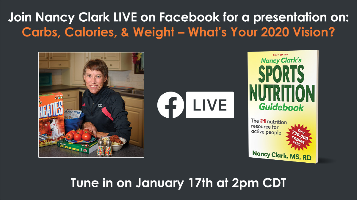 Save this Friday at 3:00 ET for a facebook live session with me. Use this HumanKinetics' Facebook link:  http://ow.ly/Gg5430q9nWl We'll be talking about calories, carbs and weight management.pic.twitter.com/e4QTiBBSKb
