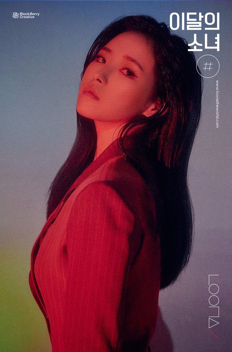 .@LoonaTheWorld's #OliviaHye, #HeeJin & #GoWon look spectacular in new promotional portraits for '#.' <br>http://pic.twitter.com/w1briylrun