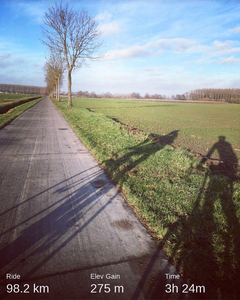 Cyclingroad in Flanders  フランダース のサイクリングロード。 #stravacycling #cyclinglife #cyclinglove #cyclinglove #自転車のある風景 #racebike #roadcycling #travelbike #minivelo #smallwheels #ロードバイク #ディスクロード #小径車 #ミニベロ #ミニベロロード #自転車旅 #サイクリングpic.twitter.com/l2nn7Juzvc