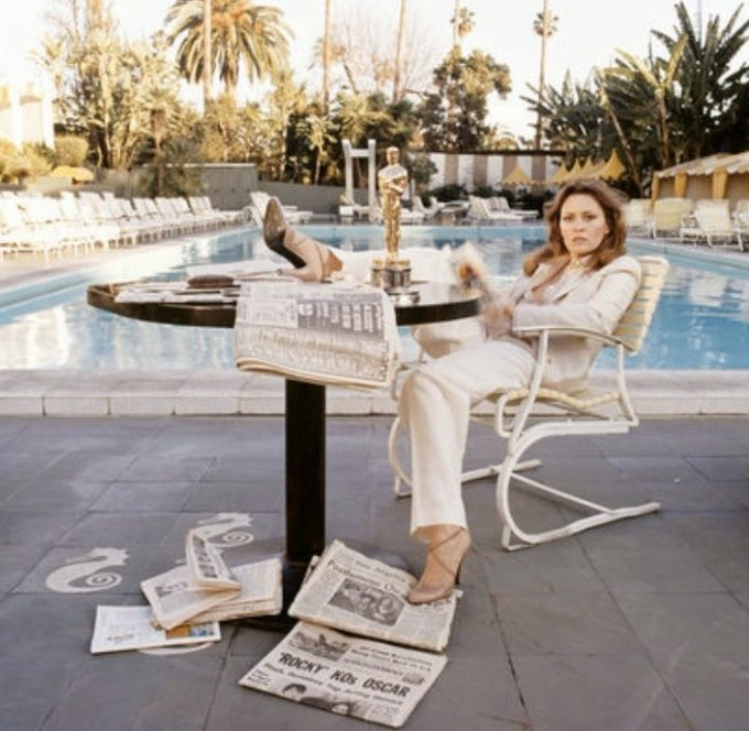 Happy birthday to Dorothy Faye Dunaway, my favorite to make fun of
