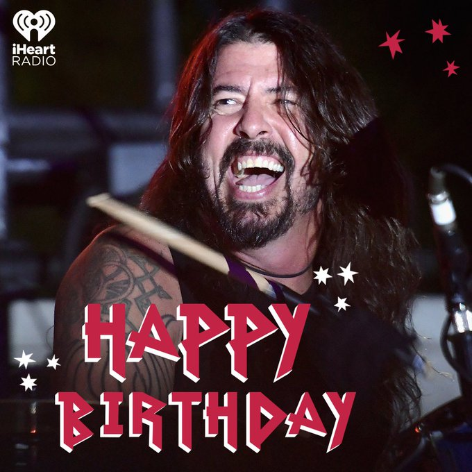 Happy Birthday to rock ROYALTY Dave Grohl!