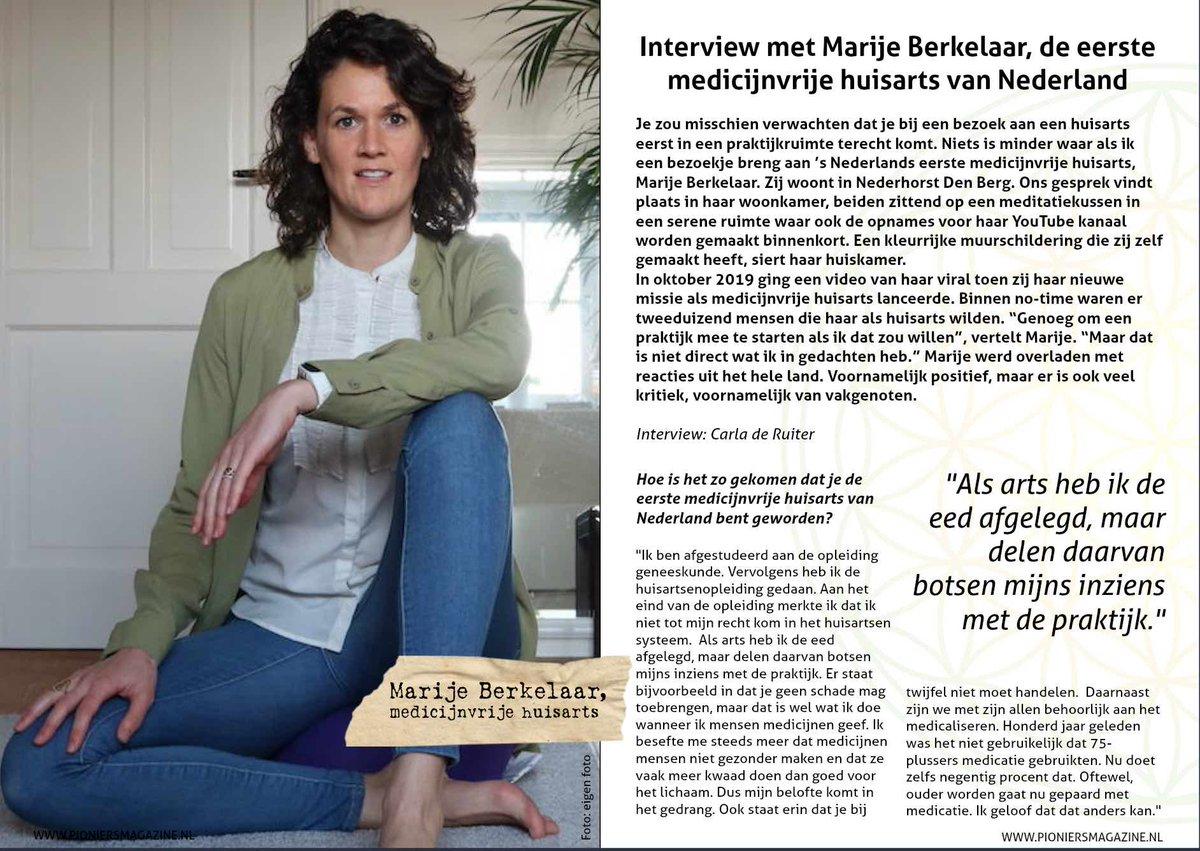 """Pepijn van Erp on Twitter: """"Toen die 'medicijnvrije huisarts' (Marije Berkelaar) paar maanden terug viral ging op Facebook, dacht ik nog dat ze alleen maar een soort life coach wilde worden, maar"""