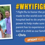 Image for the Tweet beginning: Meet #flufighter Chris Miller, whose