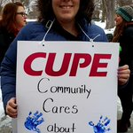 Image for the Tweet beginning: CUPE 126 members are fighting