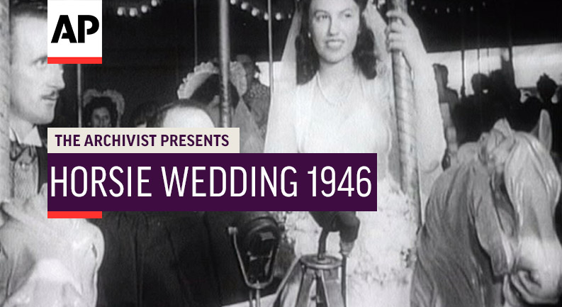 This week's #ArchivistPresents clip features a 1946 wedding on a carousel. apne.ws/hob19Qh