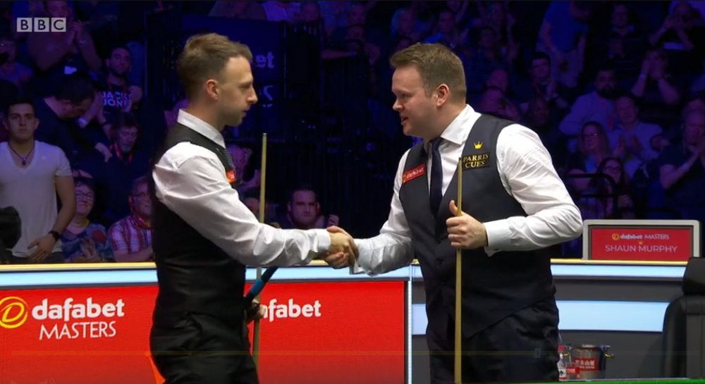 What a performance! 🤩Shaun Murphy beats the defending champion Judd Trump 6-3 in the #Masters👉http://bbc.in/35TFwip  #bbcsnooker