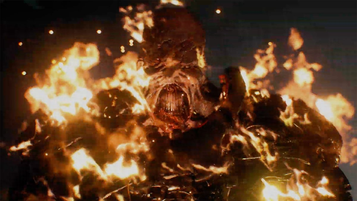 STAAARRRRS!!!The latest trailer for Resident Evil 3 focuses on the flamethrower-wielding, car-throwing, nearly unstoppable Nemesis. Move over Mr. X, there's a greater terror in Raccoon City.