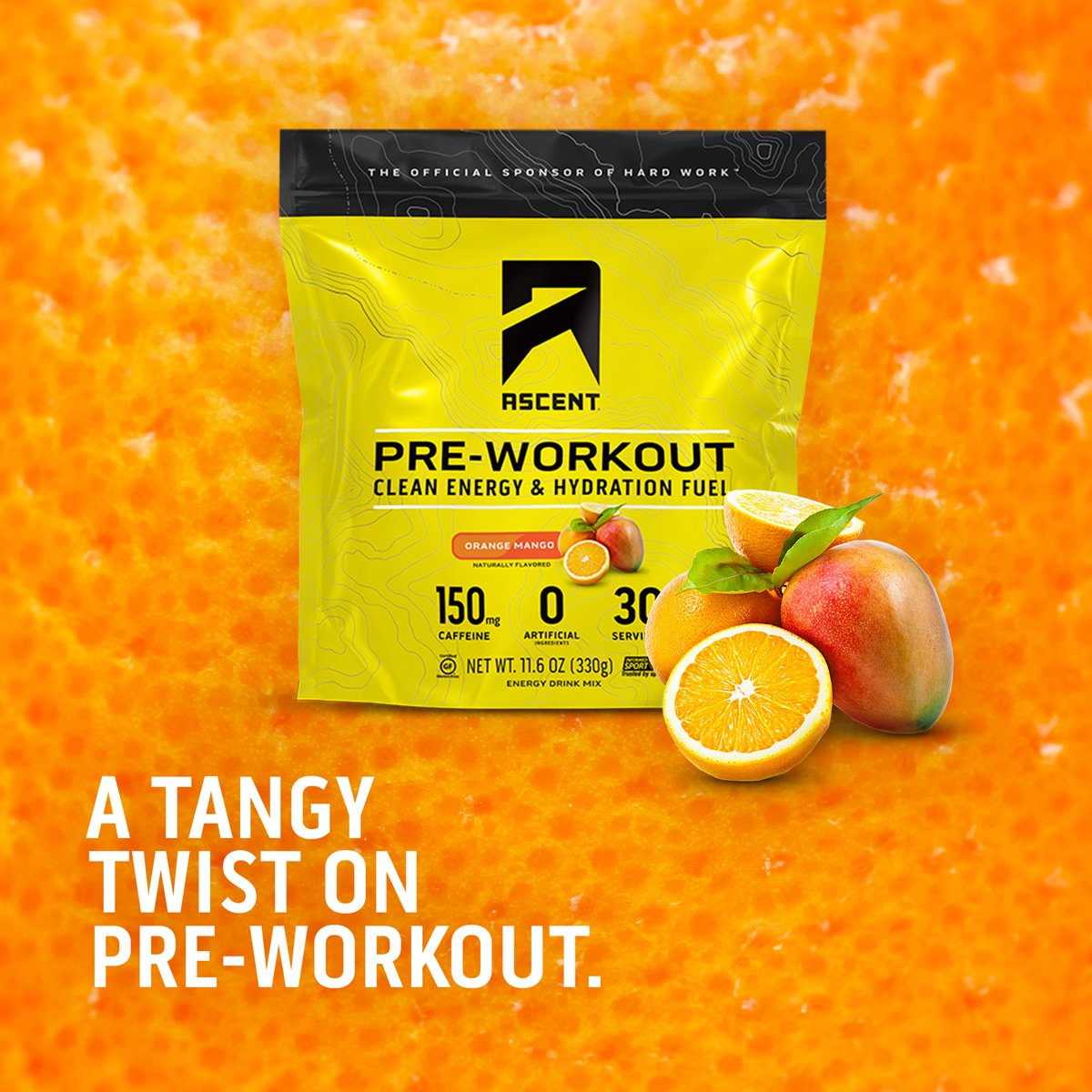 Ascent Protein on Twitter: #NEW! Introducing our newest flavor of #preworkout - Orange Mango - available online starting today;