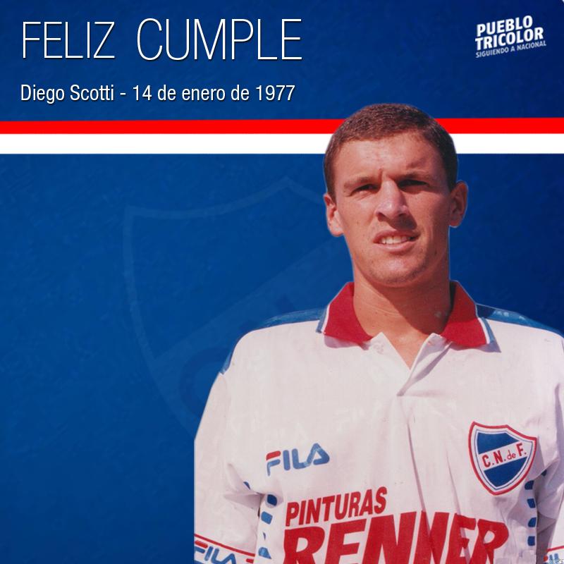 """PuebloTricolor's tweet - """"Feliz cumpleaños. Diego Scotti en ..."""