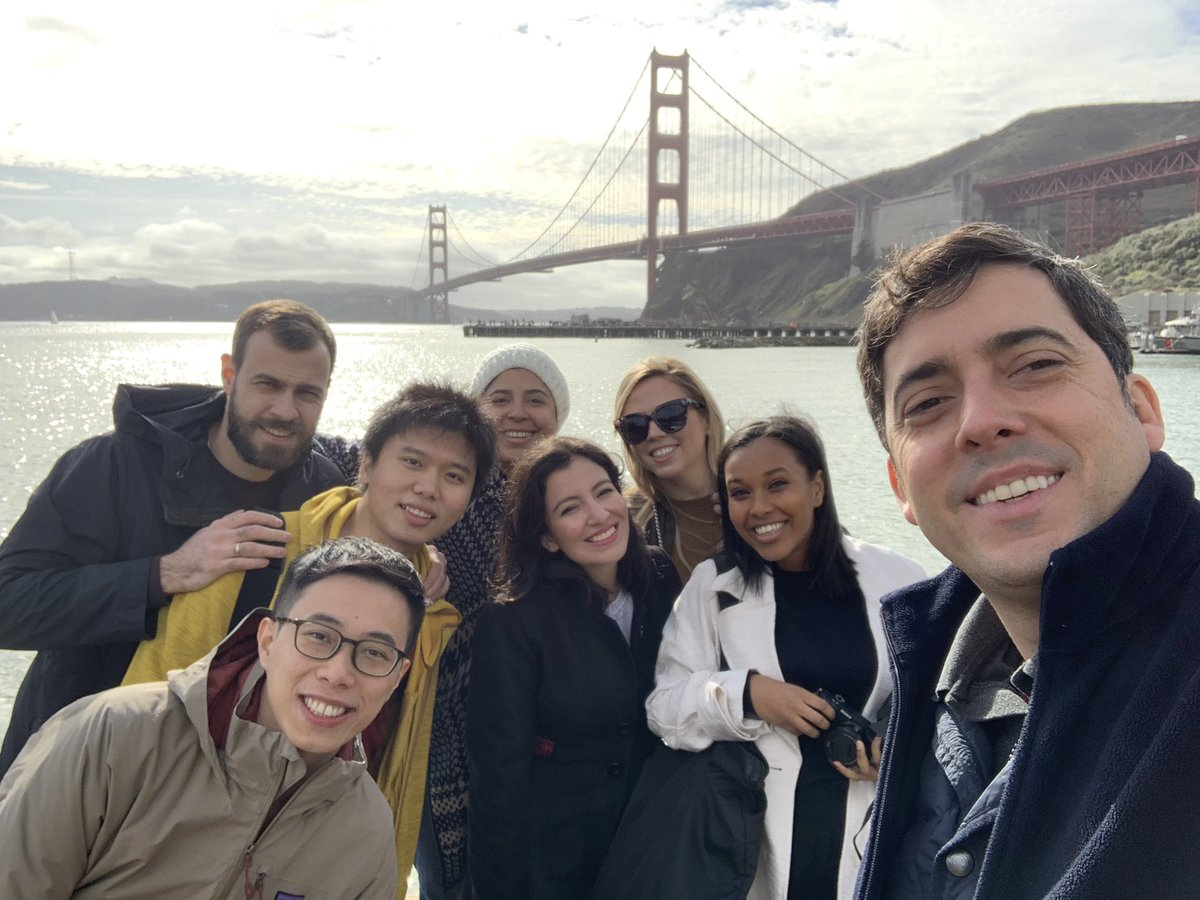 The @HRF Freedom Fellows are in SF, learning about everything from digital security to fundraising. 📍Follow along as we represent civil society movements in Venezuela, Thailand, Hong Kong, Russia, Nicaragua, and Eritrea across the Bay Area.