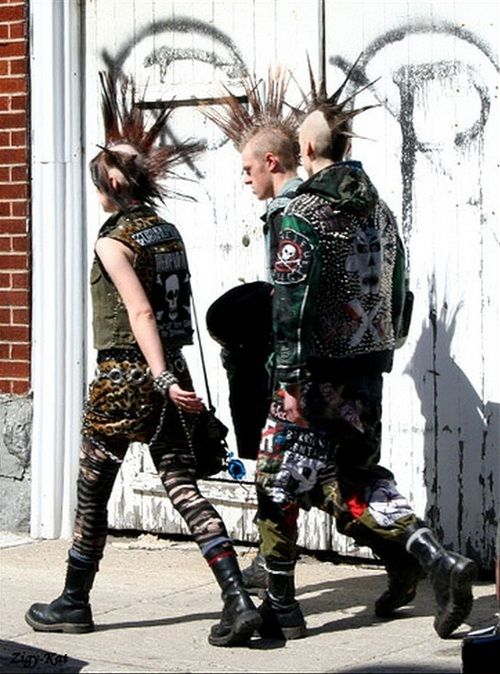 three punk
