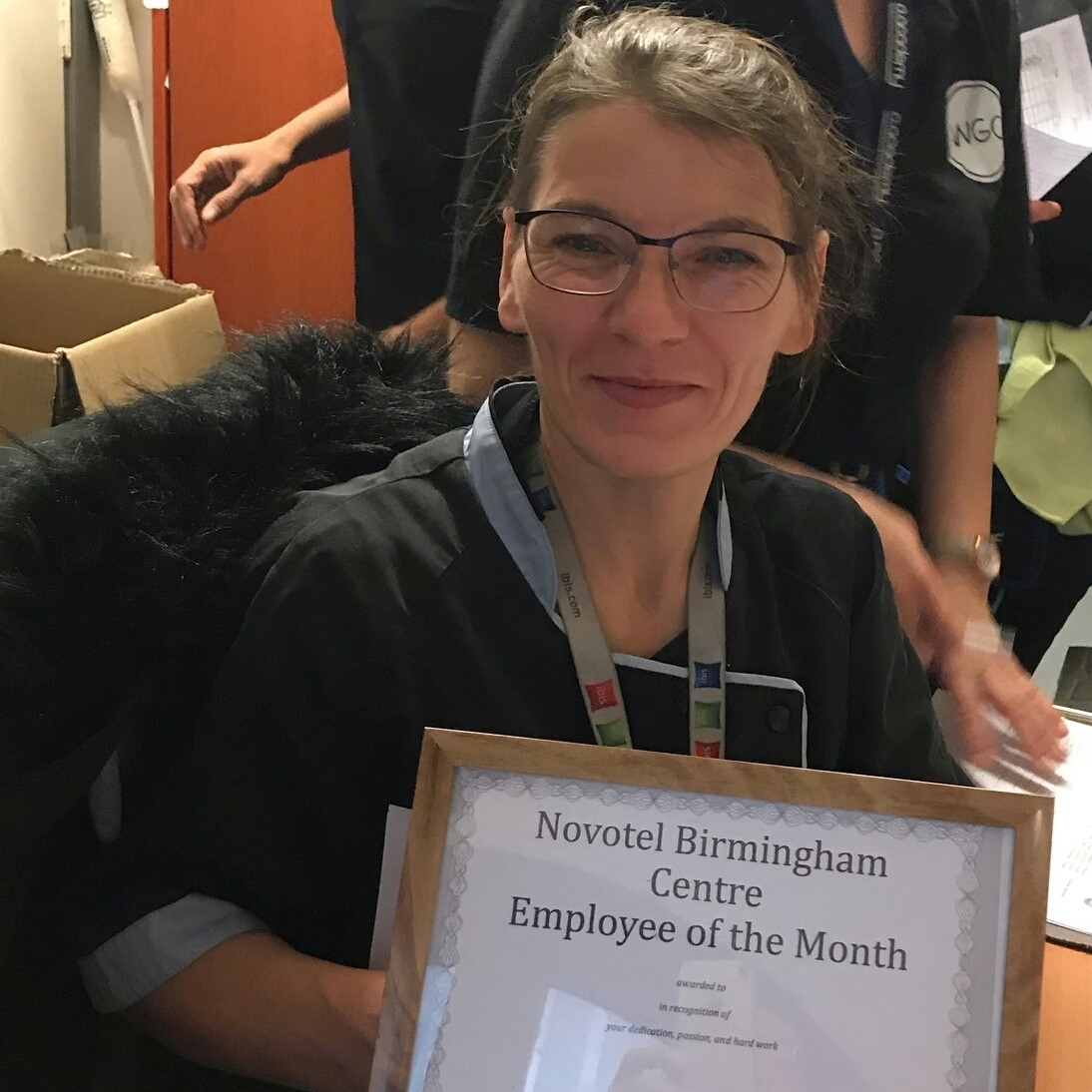 Well done to Dorota Melaniuk from Novotel Birmingham Centre for being named as Decembers employee of the month. Thank you for all your hard work on both Public areas and your executive rooms!  #Housekeeping #Hotels #OneBestWay #WGC #Team #LoveToClean  #HotelHousekeepingpic.twitter.com/MpY7kHYauS