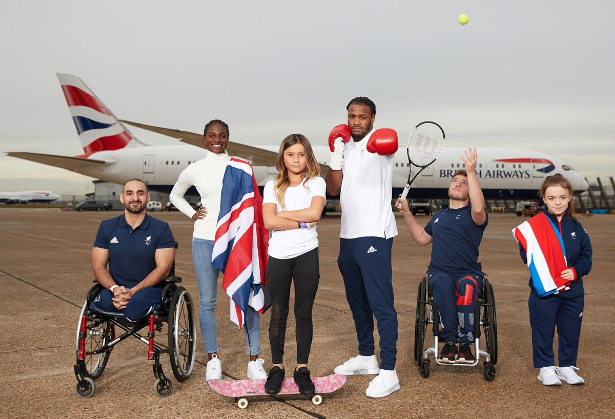 For the fourth consecutive Games, we're excited to be official airline partner for @TeamGB and @ParalympicsGB for #Tokyo2020. We'll be flying hundreds of athletes to Tokyo ahead of the Games this summer, supporting them from start to finish 🏅 Learn more: http://ba.uk/zPhDes