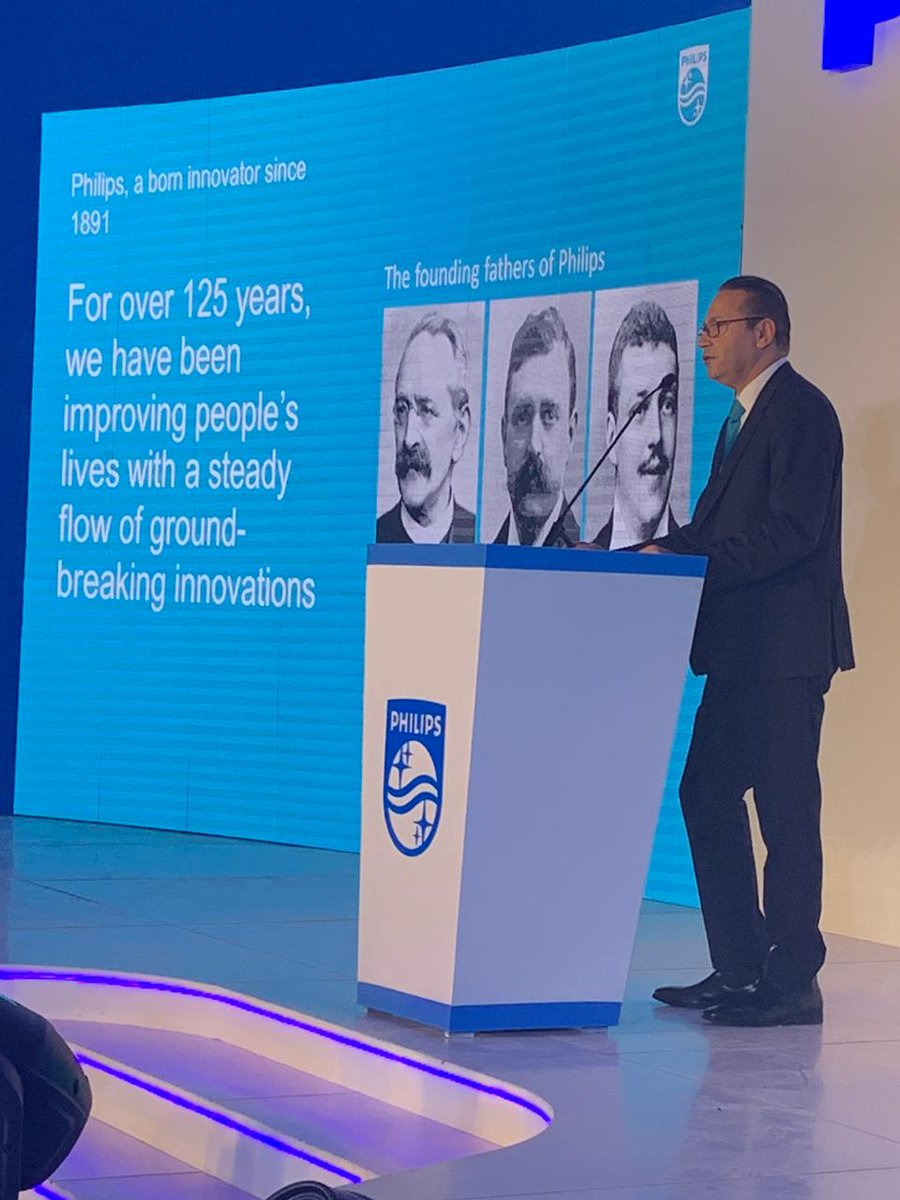 Welcome Philips 2020! CEO – Iyad Al Taiyeb gives his welcome inaugural speech on the Philips fresh start in 2020. #FutureOfHealthCare  #NewDecadeFreshStart https://t.co/KvTxcoaj88