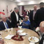 Image for the Tweet beginning: Great food & fellowship in