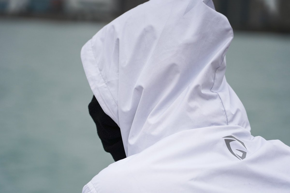 Tomorrow, we restock our white windbreakers! Limited quantity will be available!