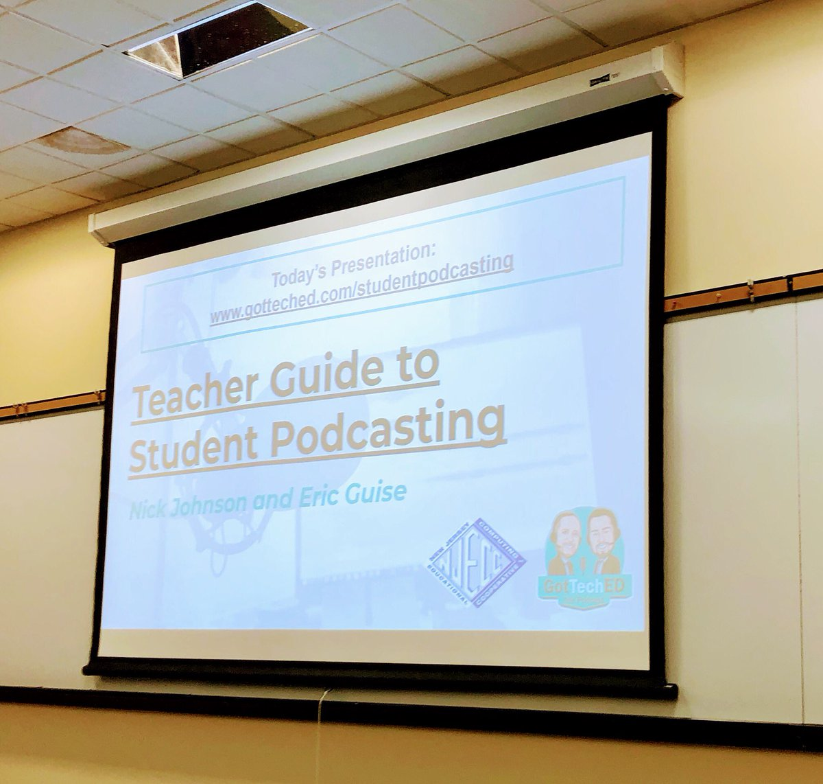 Looking forward to starting this at SBS!! @fse_sbs @NJECC #njecc2020 @SBS_Tigers<br>http://pic.twitter.com/q4xqaXySto