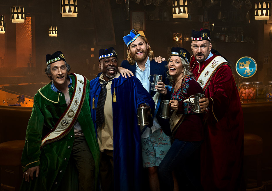 From the @latimesent to the @nytimes, and all stops in between, #Lodge49 has made every Top 10, Best of TV List for two seasons in a row.   And now Seasons 1 and 2 are available on @hulu.   Walk through our doors, have a seat in our Tavern and discover what it is to be a Lynx.
