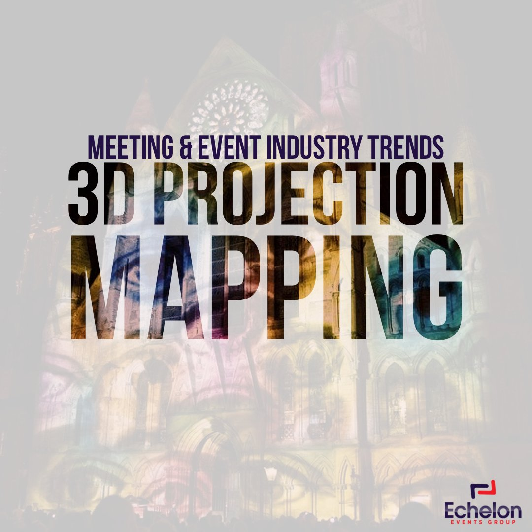 The biggest game-changer in event technology by far is 3D projection mapping. Imagine being able to transform a basic conference room to fit the theme of your event without props and décor. #eventplanner #eventplanning #3dprojectionmapping #3dmapping #projectionmapping #3dpic.twitter.com/GzoHxO32l5