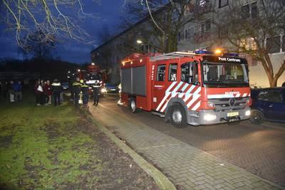 Keukenbrand in flat aan Nijmeegse Rozemarijnstraat ..