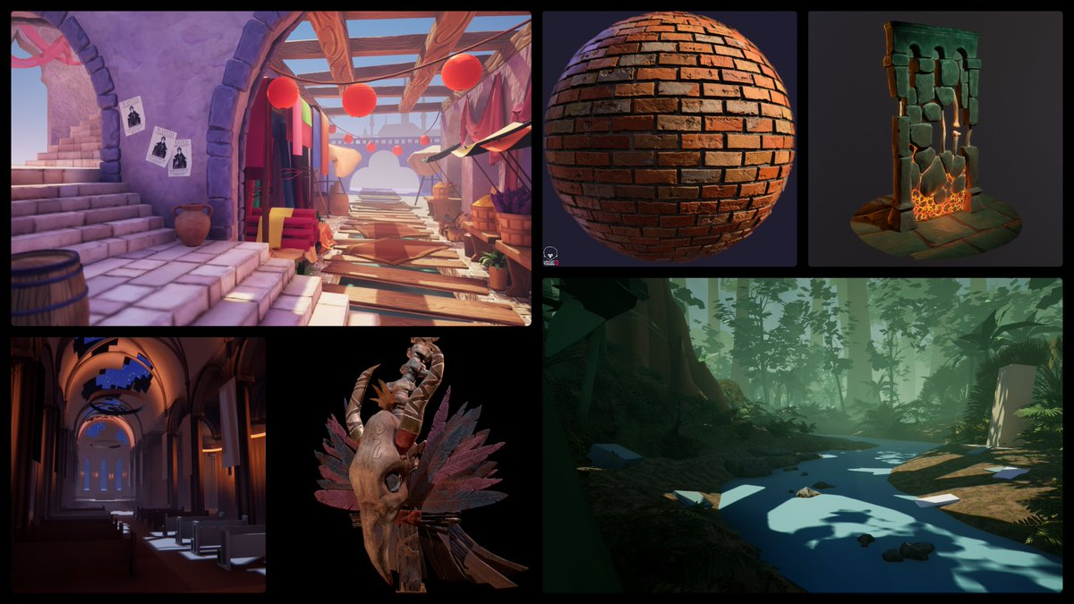 Heyo~ My name is Ash and Im an Environment Artist hoping to work in video games! I love making work with vibrant colors and a dash of mystique✨ #PortfolioDay #gamedev #environmentart ✨artstation.com/ashleyw ✨artstation.com/ashleyw/blog ✨️awade3d@gmail.com