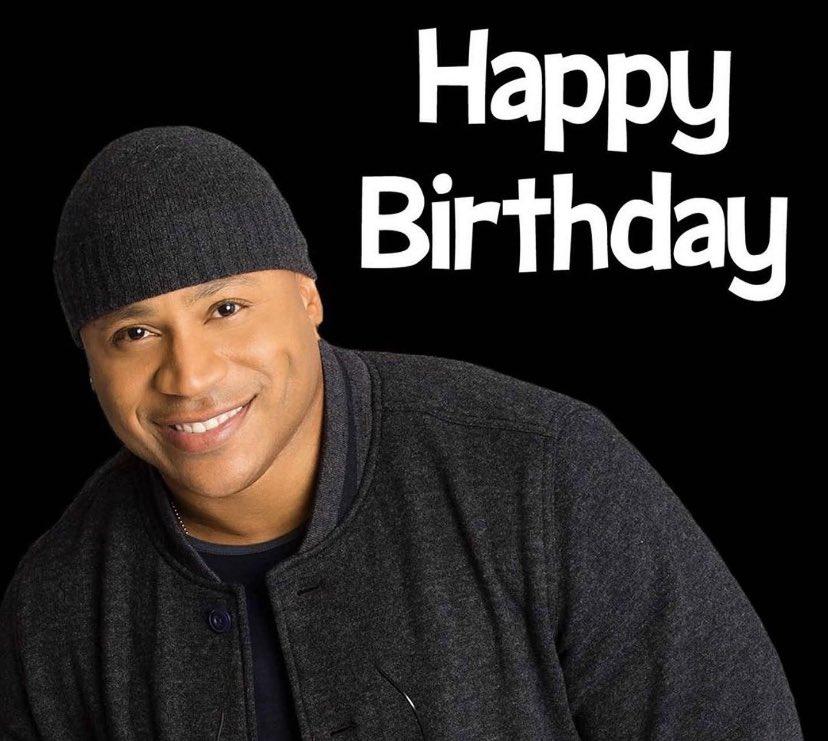 Happy birthday to James Todd Smith AKA LL Cool J