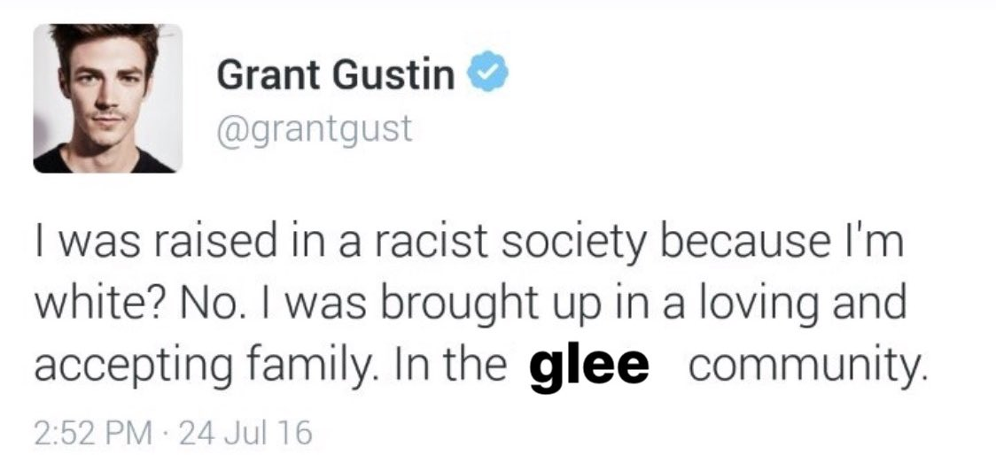 Happy birthday grant gustin come back to message pls