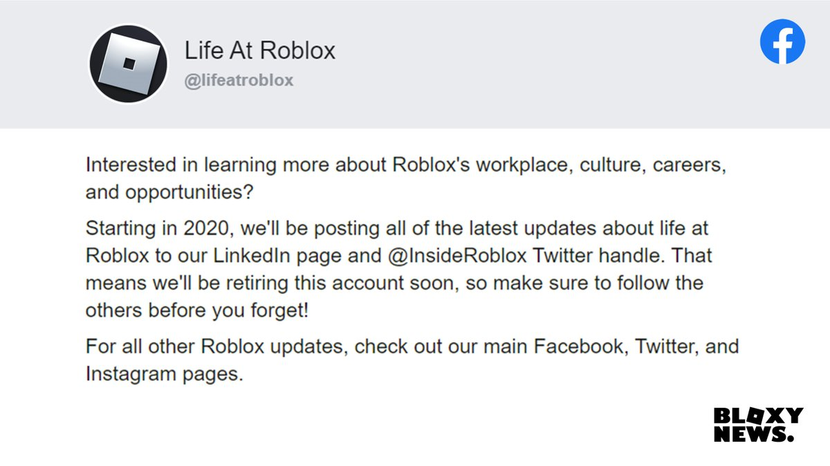 Make A Roblox Account Now Bloxy News On Twitter Interested In The Shenanigans That Go On In The Roblox Hq Starting This Year Roblox Will Be Posting More On The Insideroblox Account About Life And Updates At