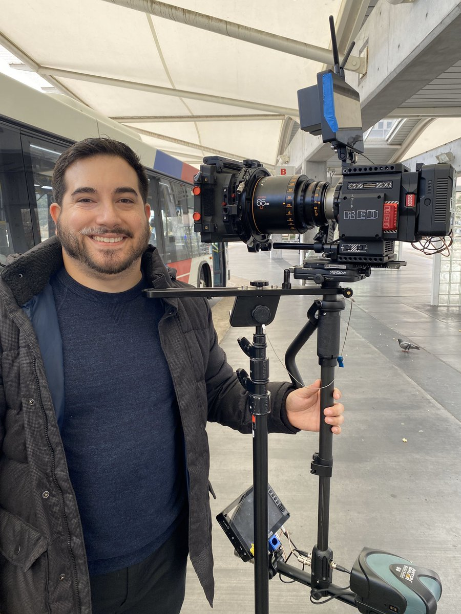 Directing my very first real short film and when I say real I mean by a professional team a great group of guys who know what the were doing!  Couldn't have asked for a better crew! @Teradek @SmallHD @AtlasLensCo @RED_Cinema @coreswx @WoodenCamerapic.twitter.com/wB88Iz6OYz