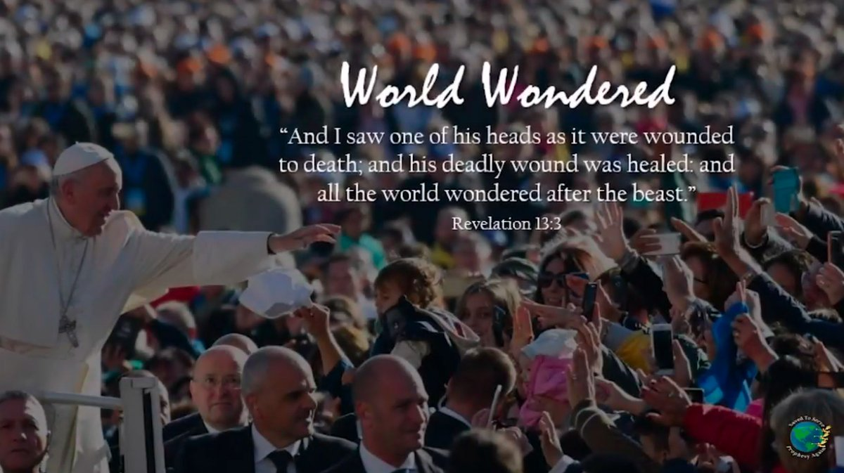 """@Reuters Rev 13:8 (KJV) And all that dwell upon the earth shall worship him, whose names are not written in the book of life of the Lamb slain from the foundation of the world.  """"The Great Controversy""""  by Ellen White https://t.co/nvhlEwmrHO  Order book https://t.co/p0M315evrp https://t.co/Q42rkVau4Y"""