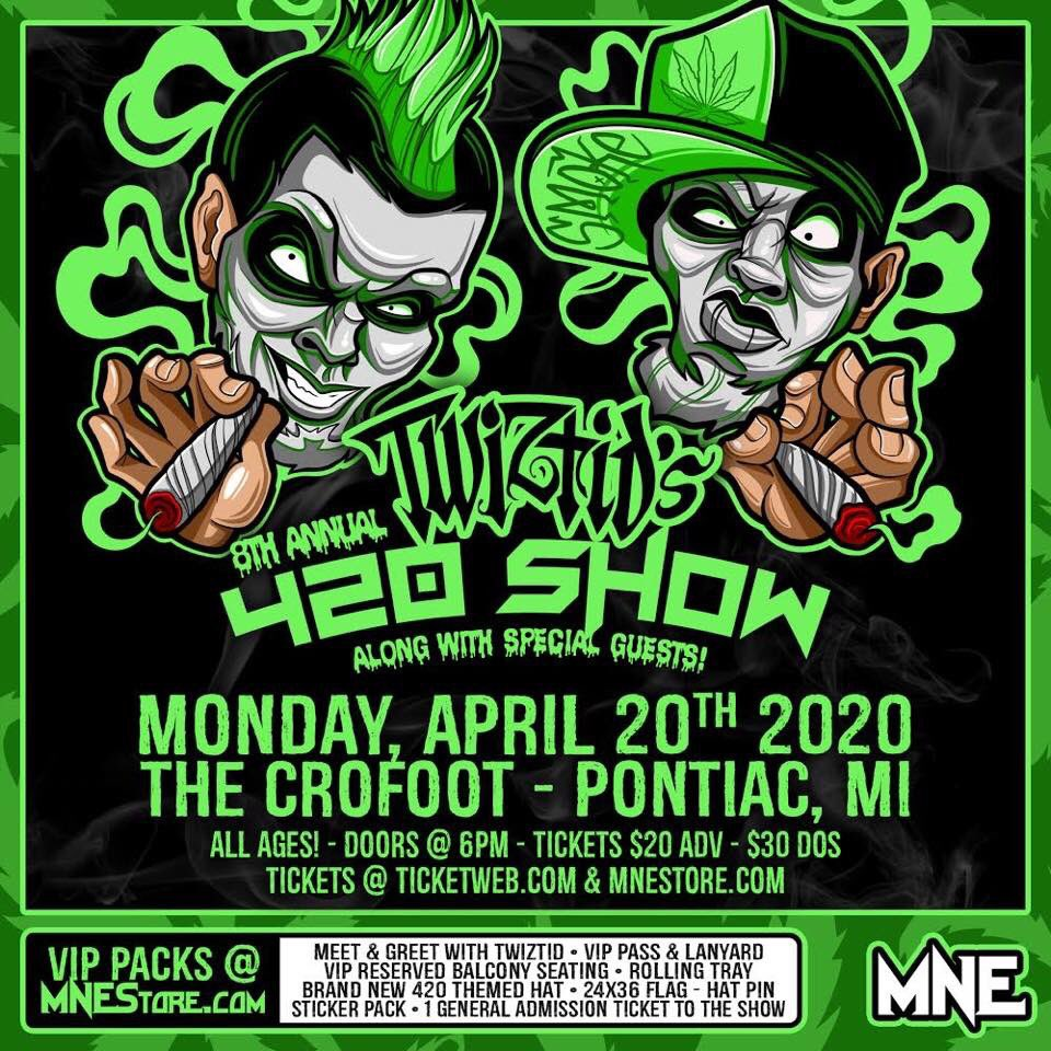 VIP Packs will be available, also. Visit http://www.MNEStore.com to snag yours.*** #DementedDuo #NewShowAlert #420 #MichiganEvents #Detroit #AllAges #HypeWire #HipHopEvents #2020HipHop #MNE #MajikNinjaEntertainment #Smokers  #MajikninjaSTL #StLouisMNEstreetteam #Majikkermitpic.twitter.com/pucbOekOzY