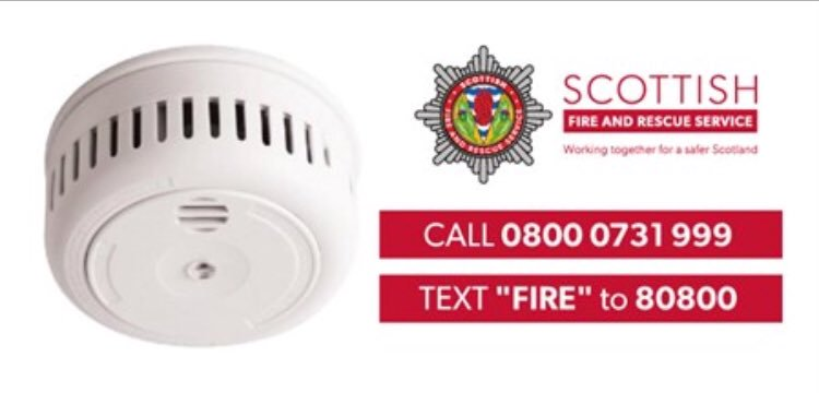 Its #TestItTuesday If you test it works you can trust it works! @fire_scot We can provide Free Home Fire Safety Visits and fit 10 year Smoke and Heat Detectors for free Contact us for more information! @RothesFire @Smoraycat @TheMorayCouncil @cppmoray #FireSafety #StaySafe2020