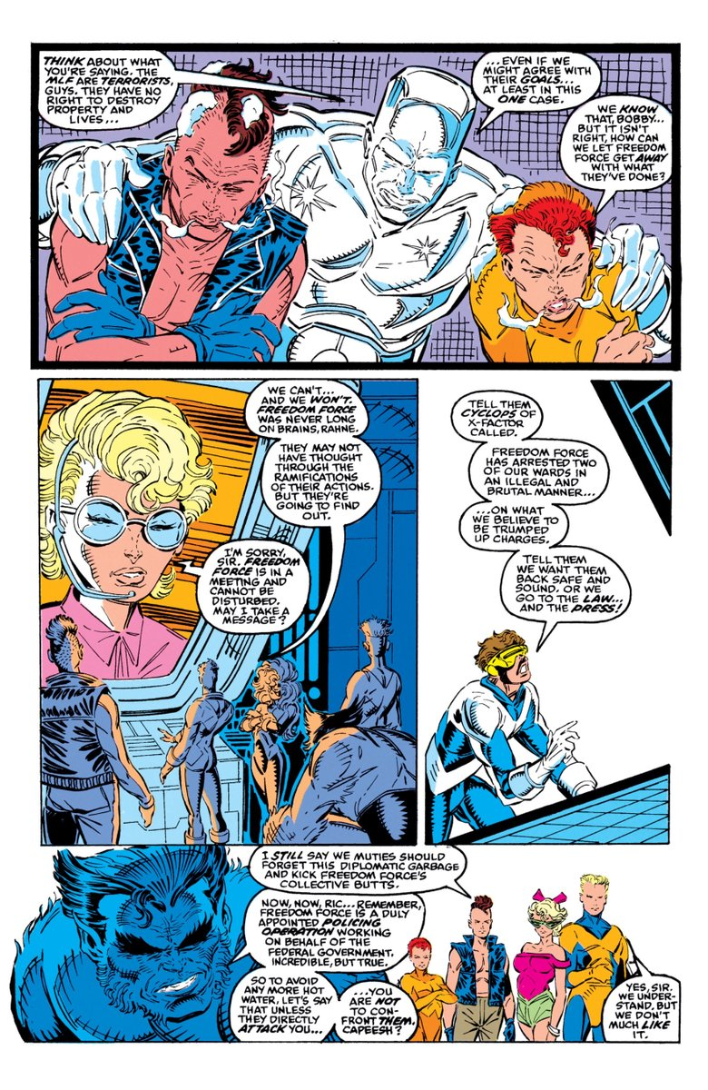 Robliefeld On Twitter X Factor The New Mutants Rob Liefeld 1989 Rob liefeld technically didn't even need to cite wade as the example of how this works. x factor the new mutants rob liefeld