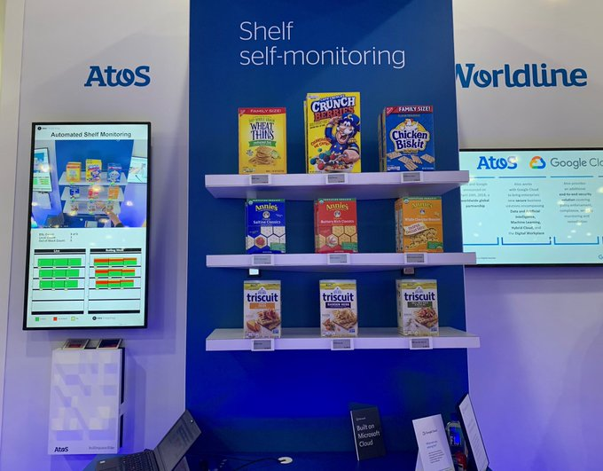 Visit ATOS booth #545 to see our one of a kind Connected Cooler along...