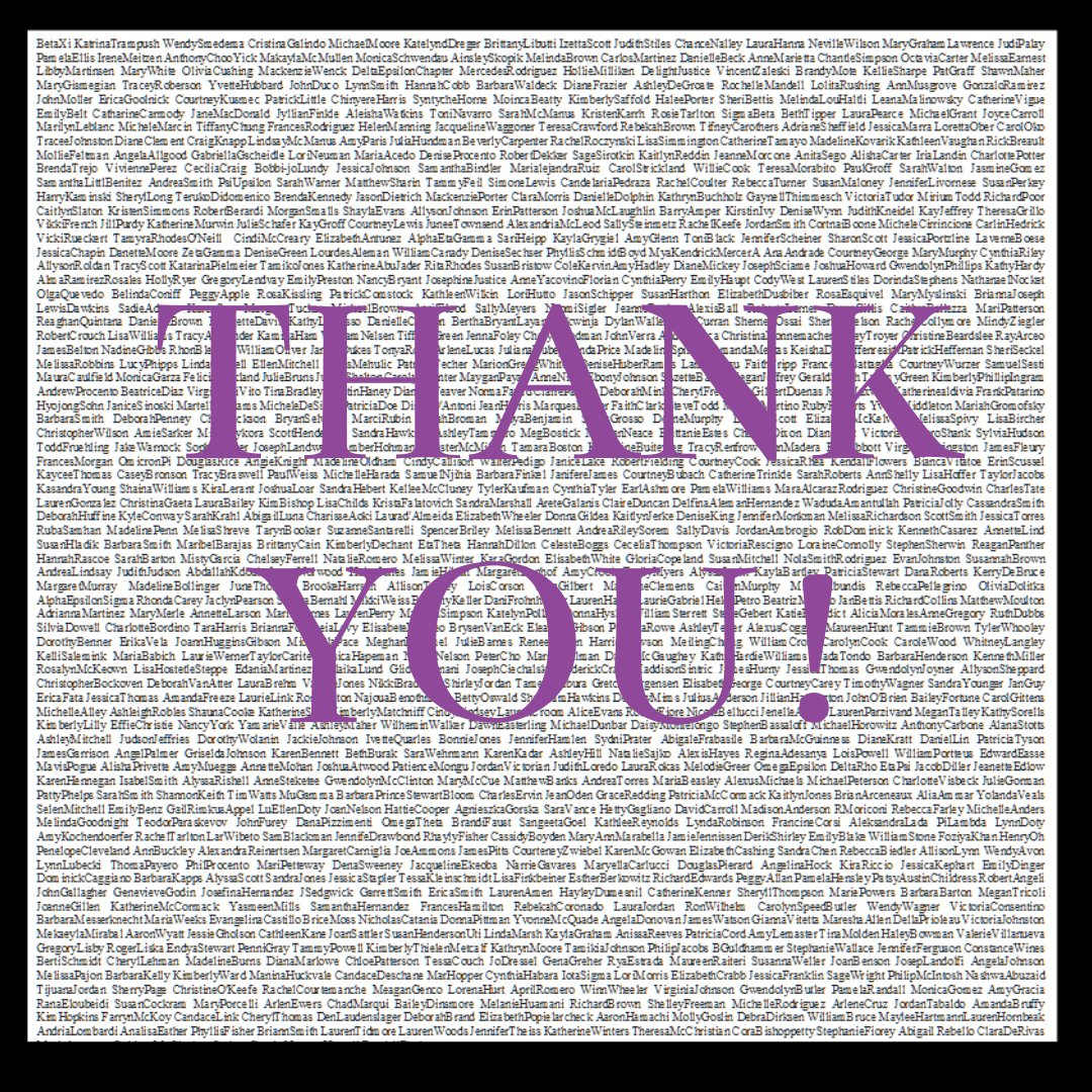 A special thank you to the more than 1000 people and chapters who supported KDP financially in 2019. We are who we are because of you!  #2019Giving #Donors #ThankYou #NonProfit #KappaDeltaPi #KDPpic.twitter.com/jCegX3wFPY