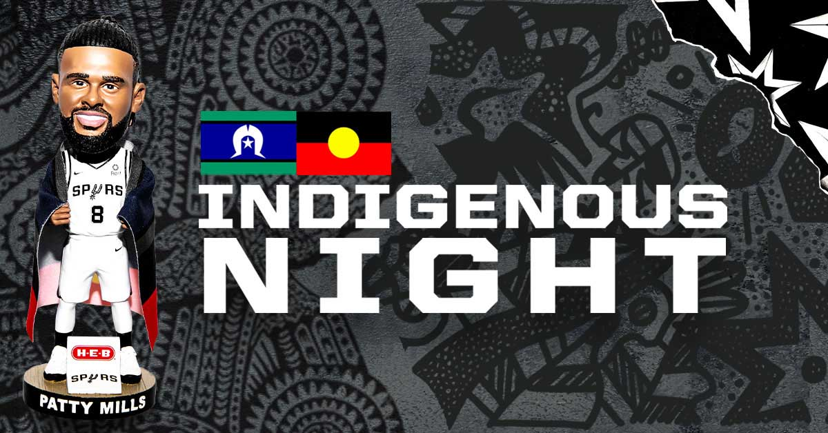 .@Patty_Mills is bringing the first-ever Indigenous Night to the @attcenter this Sunday!  MORE: https://on.nba.com/2tXt7gc