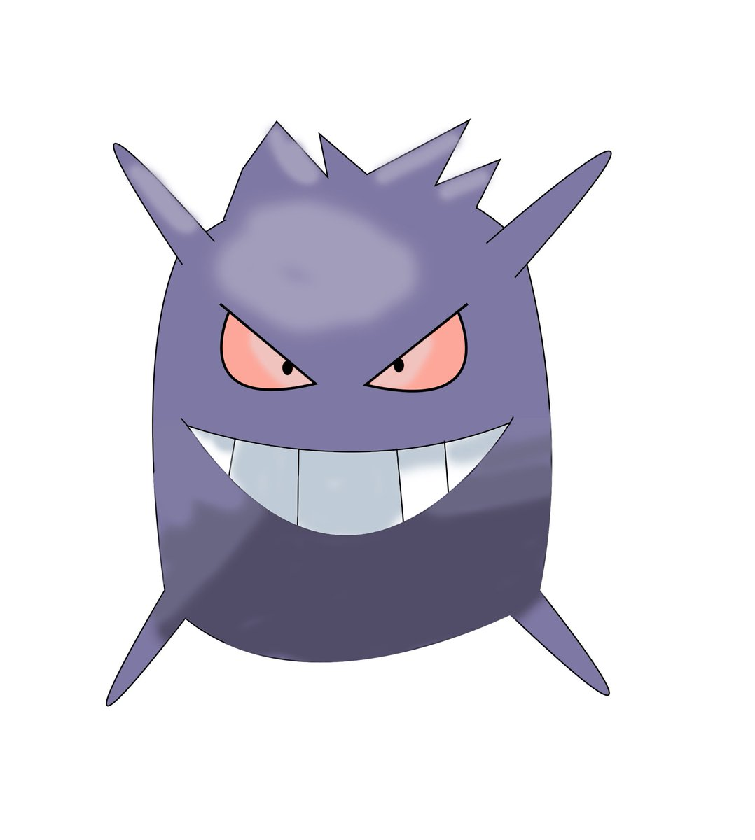 So, i stated to think about if Pokémon Sleep had different forms for pokemon. So I decided to create some of my own. This is a pillow Gengar. (VERY WIP) pic.twitter.com/YnT0Nf3OwN