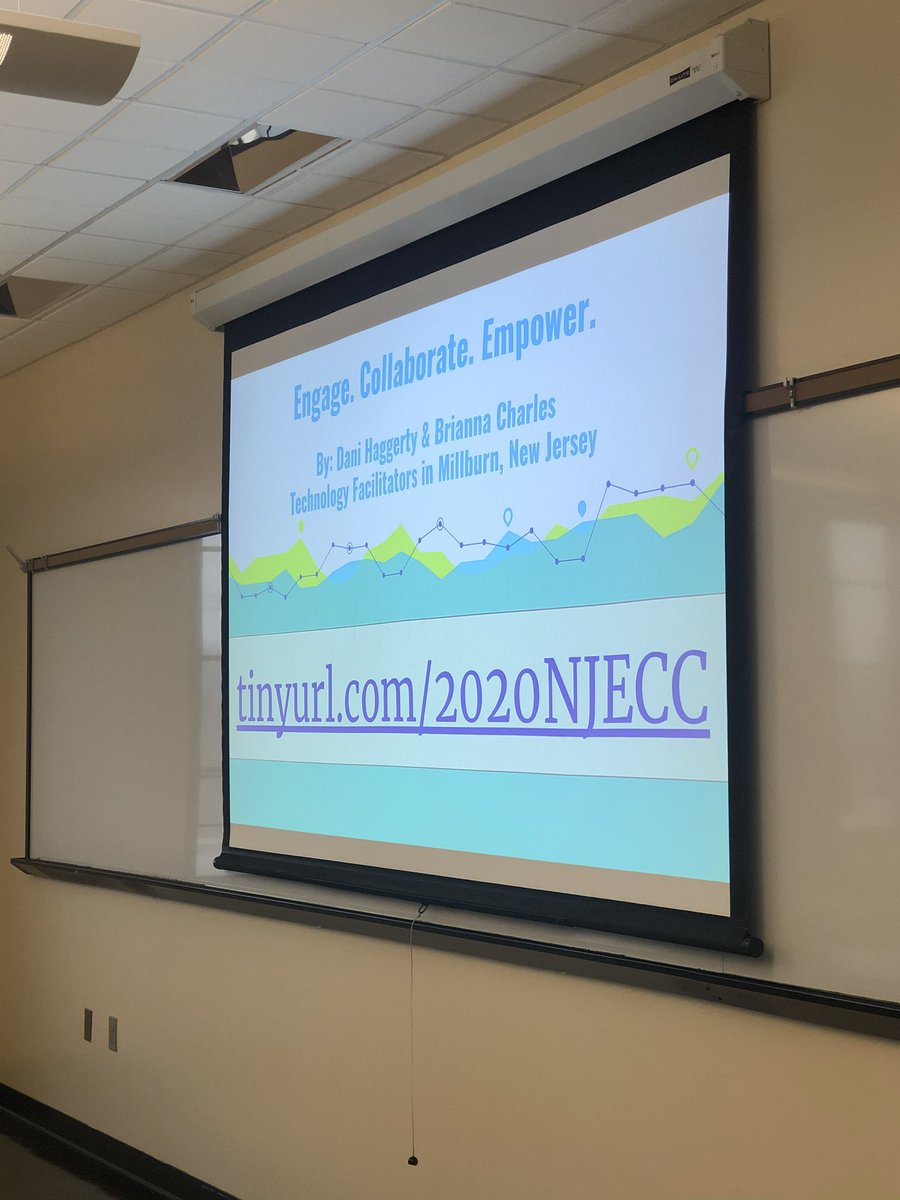 Great time presenting today with @Mrs_Hgrade5 at #njecc2020 Looking forward to presenting together again on January 31st at #Techspo2020 Thank you for attending @evanabramson<br>http://pic.twitter.com/9JPxjUzZ6A – à Montclair State University